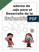 Cuaderno de Trabajo Para El Desarrollo de La Grafomotricidad