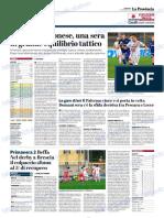 La Provincia Di Cremona 04-11-2018 - Serie B
