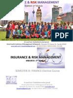 INSURANCE & RISK MANAGEMENT  - Sem3 MBA  IRM-Module 2  .pptx