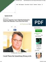 Stefan Lanka Case - Viruses Not Exist