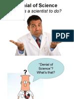 Denial of Science