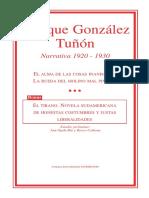 Narrativa. Enrique González Tuñón