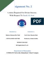 Assignment 2 CIIT-FA18-BEN-025-VHR Shahroz Suleman Bin Tahir