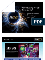 Introducing HFSS Version 12