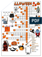 Halloween Crossword Crosswords Fun Activities Games 32442 (1)
