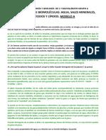 EXAMEN DE BIOLOGÍA Y GEOLOGÍA  DE 1 º BACHILLERATO GRUPO A MODELO A