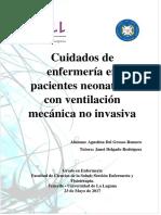 Cuidados de Enfermeria en Pacientes Neonatales Con Ventilacion Mecanica No Invasiva.