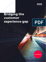 Bridging the Cx Gap Report