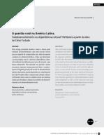 A Questão Rural Na América Latina