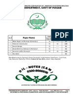 DIL - NOTEs - C&W