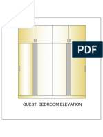 Guest Bed Room Elevation