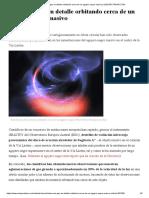 Observan Gas en Detalle Orbitando Cerca de Un Agujero Negro Masivo _ ELESPECTADOR.com