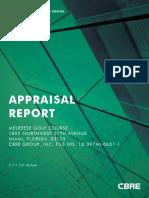 Melreese Appraisal CBRE 2018
