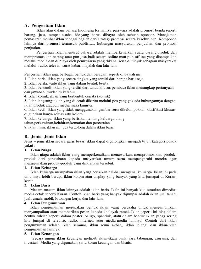 Contoh Gambar Iklan Slogan Dan Poster Di Koran - Contoh ...