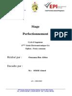 Page de Garde Stage Tic