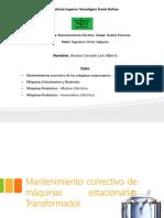 Mantenimiento Electrico Aranea_Luis (2).pptx