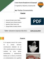 Exposición2 - Piedras Ornamentales - Cuarzo 17-11-2015.pptx