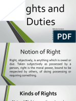 EU 1 - Rights and Duties (Midterm)