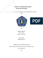 PERBANDINGAN ADMINISTRASI PUBLIK  DI NEGARA DENMARK