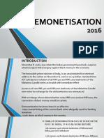 demonetisation presentation