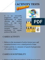 Caries Activity Tests