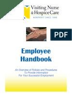 Employee Handbook 11 3 11