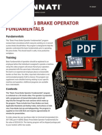Basic Press Brake Operator Fundamentals
