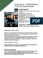Ncis Tempo2 Latino Descargar