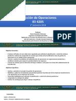 Introducción Gestion de Operaciones