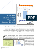 Chilled water thermal storage