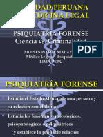psiquiatria forense ciencia vs criminalidad