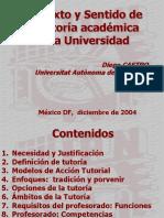 Tutorias Academicas en La Universidad