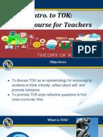 Intro to TOK_ Crash Course for Teachers