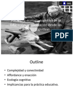 Ecología cognitiva  ppt oficial