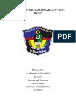Mendirikan Rmh Adat Bugis1