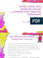 Aspek Legal Dan Legislasi Dalam Pelayanan Dan Praktek Rev