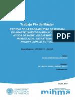 MOGOLLÓN - Estudio de La Probabilidad de Rotura de Tuberías en Abastecimientos Urbanos Con La Ay...