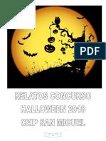 Relatos de terror Concurso Halloween 2018 CEIP San Miguel