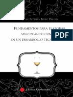 Elaborar Vino Blanco Común
