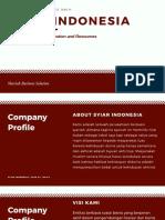 Pitch Deck Syiar Indonesia
