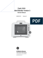 GEHC Service Manual Dash 2000 Patient Monitor RevD v3 2004