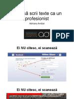 Adriana Arnaut -Cum Sa Scrii Texte CA Un Profesionist