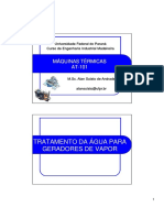 UFPR - Tratamento de Água para Geradores de Vapor (Aula 6)
