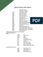Relatórios SAP - MM