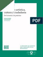 Edu Artist Cult y Ciudada de La Teoria a La Practica Eio