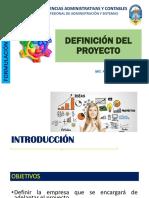 2 Definición Del Proyecto