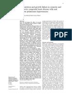 Malnutrition and Growth Failure