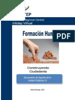 Formacion Humana - Guia Unidad 4 COnstruyendo la Ciudadania