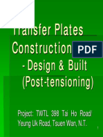 Transfer Plates Construction