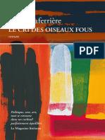 Dany Laferriere - Le Cri Des Oiseaux Fous
